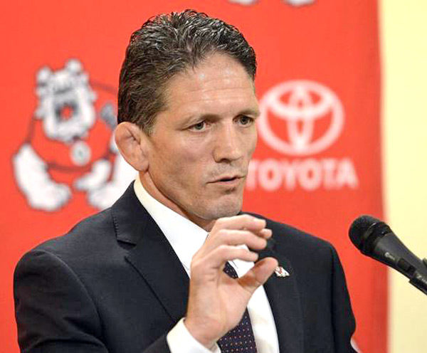 Troy Steiner - Head wrestling coach at Fresno State.