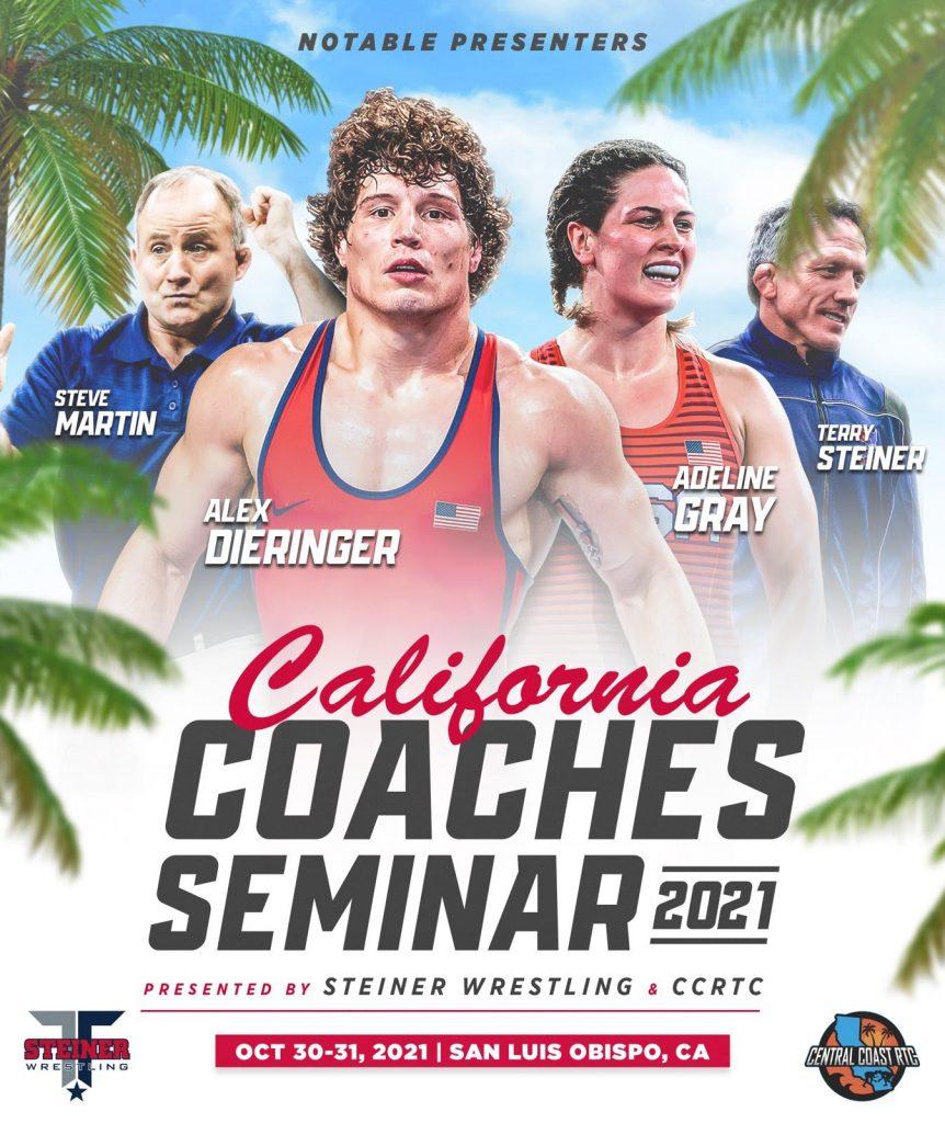 graphic for California Coaches Seminar - 2nd Annual