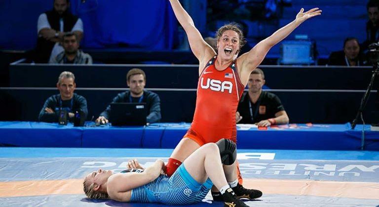 Adeline Gray wins 6th world championship